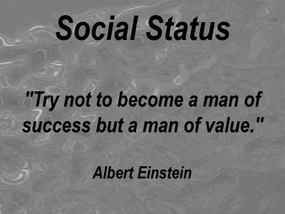 What is Social Status