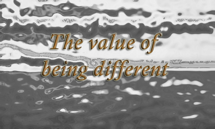 The value of being different