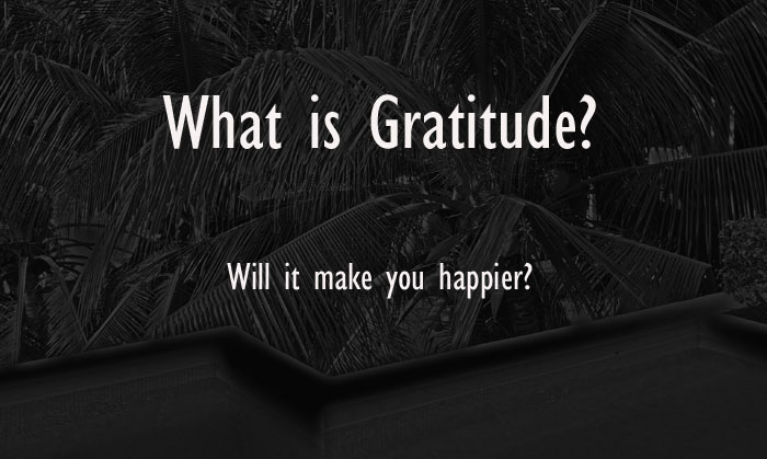 What is Gratitude, how to be happy