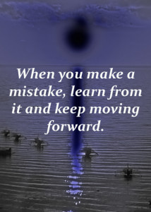 quotes about making mistakes.