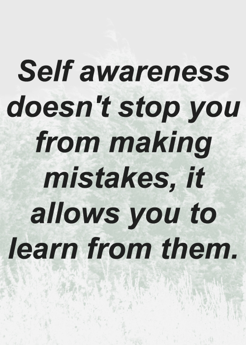 Self awareness quote