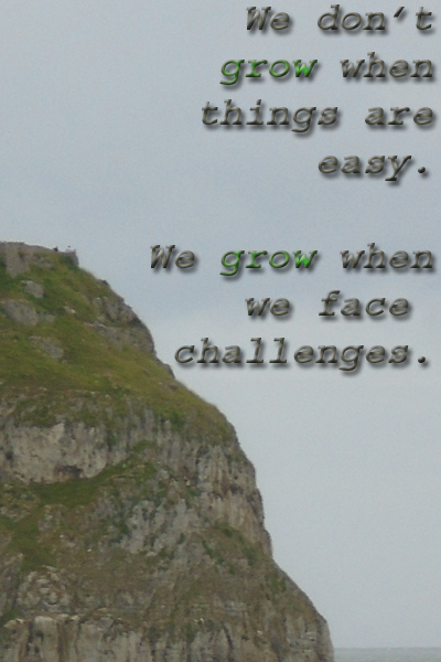 Personal growth & challenges quote