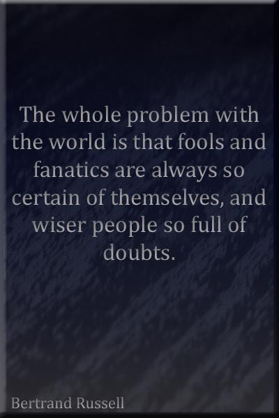 Fools & Fanatics Quote