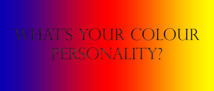 What's your colour personality