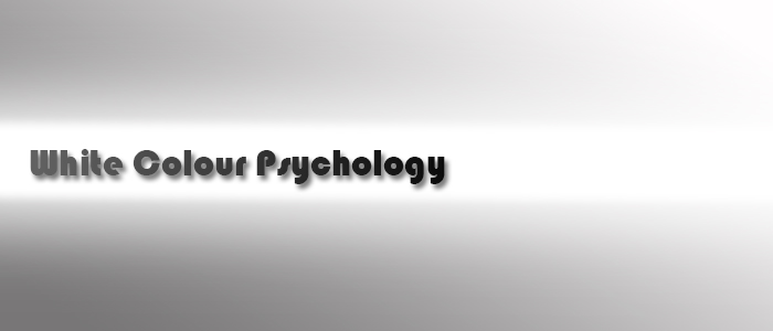 White Colour Psychology & Personality