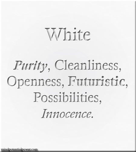 White Colour Meaning